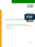 Certificacion de Personas