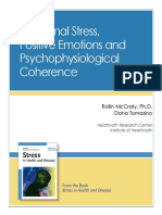 e Booklet Emotional Stress Positive Emotions and Coherence