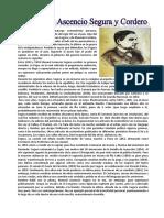 Manuel Ascencio Segura y Cordero