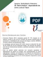 Presentación Centros de Tratamiento PAI IA [1]