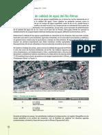 REPORTE DE CALIDAD DEL AGUA