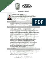 GABINETE DE BARBOSA CV Veronica Velez Macuil