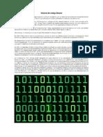 Historia Del Código Binario
