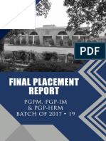 Final Placements Report_2017-19