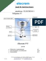 Manual de la desnatadora ELECREM 1