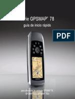 GPSmap78 Guia Rapida