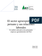 Analisis Sector Lacteo Peruano