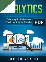 Analytics_ Data Analytics for Business Insights, Predlytics, Cloud Computing, Statistics) - Vince Reynolds