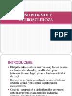 Dislipidimiile a. Tcaciuc