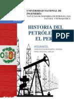 Historia Del Petróleo en El Perú_INFORME