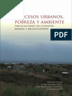 Procesos Urbanos Pobreza y Amblente