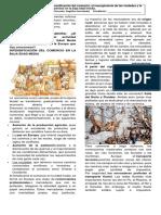 RESURGIMIENTO DE LAS CIUDADES Y  EL COMERCIO EN LA BAJA EDAD MEDIA