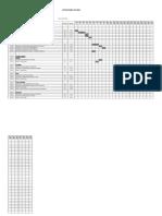 Cronograma de Ejecucion de Obra