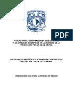 Manual Para La Elaboración de Tesis de Grado