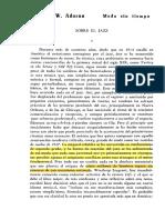Adorno - Jazz