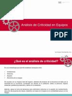 Clase Magistral de Analisis de Criticidad