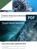 Estados Financieros Mcdonald´s