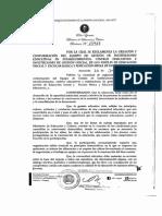 2-2-2 Resolución N° 15 917  EGIE. Que Reglamenta la creación y conformación del Equipo de Gestión de Instituciones educativas en establecimiento