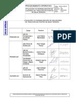 GGT-PO-OPE-020 (01) Instalación y Normalización de Aisladores de Tracción en Postes de BT