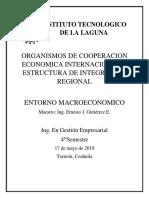Organismos de Cooperacion Economica Internacional