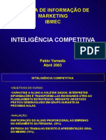 Intelig Competitiva Notas Aula