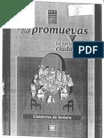Centro Antonio de Montesinos. La participación ciudadana