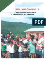 Gobierno Autónomo I - Escuelita Zapatista