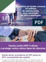 Campanha HPV 2018