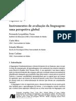 Instrumentos de Avaliação Linguagem Global