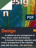 Principles of Design- Presentation
