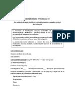 Formulario Solicitud Credencial Matias Alvarez