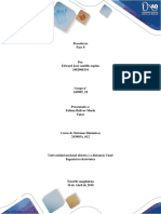 Señales y Sistemas Proceso de Una Señal