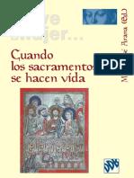 Arana, M. J. (Ed) (2008) Cuando Los Sacramentos Se Hacen Vida. Desclee de Bouver