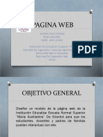 Pagina Web Jimy