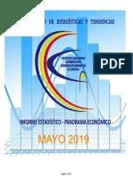 Informe del Centro de Almaceneros de Córdoba MAYO