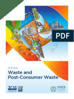 Inovação e Sustentabilidade na Cadeia de Valor - Waste and Post-Consumer Wast