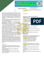 Simulacro de Examen de Admision-Formato-5to Secundaria-2019