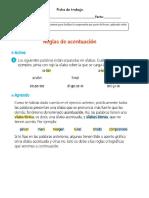 Ficha de Lenguaje