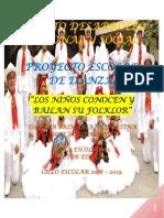 Proyectode Danza Jose Vasconcelos