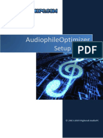 Audiophile Optimizer Setup Guide