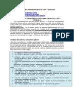 Análisis Del Sistema Educativo de Cuba y Venezuela