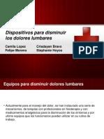 Dispositivos Para Disminuir Los Dolores Lumbares-Scribd