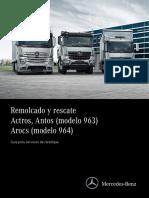 Actros, Antos (Modelo 963)