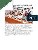 Puerto Morelos, a la vanguardia en materia de protección civil- Laura Fernández
