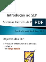 Aula 02 - Sistemas Elétricos de Potência SEP No Brasil