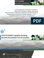 DOST-PCAARRD Capacity Building Programs