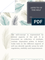 Aspects of the Self