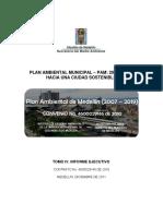 Tomo IV. Informe Ejecutivo Plan Ambienal Antioquia