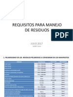 Ppt Requisitos Manejo de Residuos 2016
