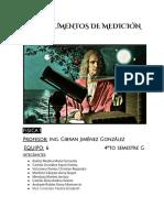 Instrumentos de Medicion-Practica No.1 Fisica 1